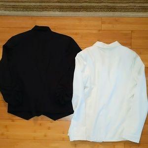 Fenn Wright Manson Jackets & Coats - Bundle 2 small blazers black and white